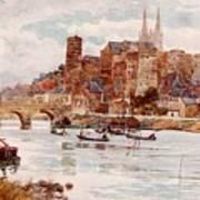Angers  Art Print