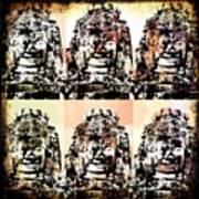 Angkor Warhol #1.2 Art Print