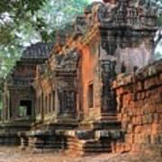 Angkor Wat Ruins - Siem Reap, Cambodia Art Print