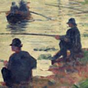 Anglers Art Print