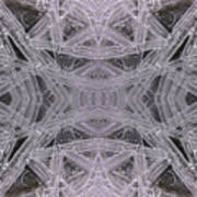 Angles In Ice On Monadnock - A1 Art Print