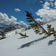Angles Of The Mountain Art Print
