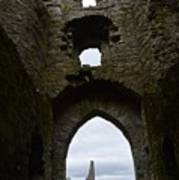 Anglo - Norman Castle. Art Print
