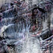 Angry Alien Art Print