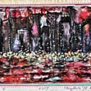 Angry City 2 Art Print