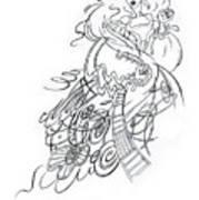 Angry Fairy Art Print