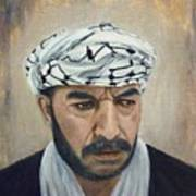 Angry Palestinian Art Print by Gizelle Perez