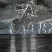Angry Skies Art Print