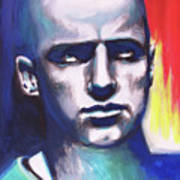 Angry Young Man Art Print