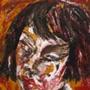 Anguish Art Print