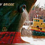 Anichkov Bridge Art Print