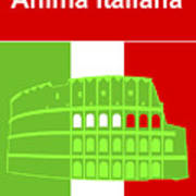 Anima Italiana Art Print