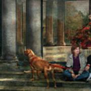 Animal - Dog - Hello There Art Print