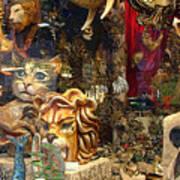 Animal Masks From Venice Art Print
