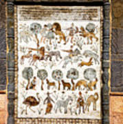 Animals Past And Present Art Print