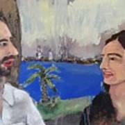 Anita And I Art Print