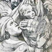 Anna, Elizabeth And Anne Art Print