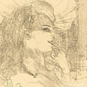 Anna Held Art Print