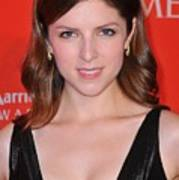Anna Kendrick At Arrivals For Time 100 Art Print by Everett
