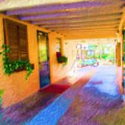 Anna Maria Elementary Office Hallway C130662 Art Print