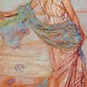 Annabel Lee James Abbott Mcneill Whistler Art Print