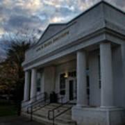 Anne G Basker Auditorium In Grants Pass Art Print