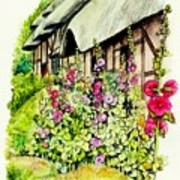 Anne Hathaway Cottage Art Print