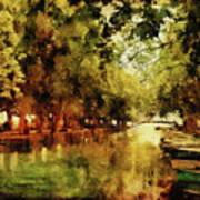Annecy France Pont Des Amours Art Print