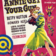 Annie Get Your Gun, Betty Hutton, 1950 Print by Everett