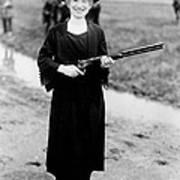 Annie Oakley, American Folk Hero Art Print
