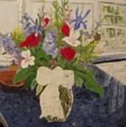 Anniversary Bouquet Art Print