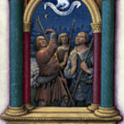 Annunciation To Shepherds Art Print