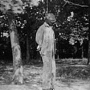 Anonymous African American Lynching Art Print