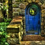 Another Blue Door Art Print
