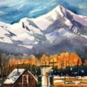 Another Colorado Barn Art Print