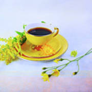 Another Cup Of Coffee Art Print
