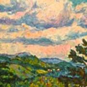 Another Rocky Knob Art Print