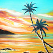 Another Sunset In Paradise Art Print