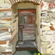 Another Tuscan Door Art Print