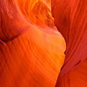 Antelope Canyon 3 Art Print