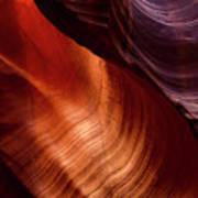 Antelope Curves Art Print