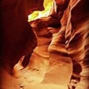 #antelopecanyon #canyon Art Print