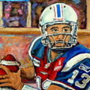 Anthony Calvillo Art Print