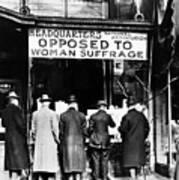 Anti-suffrage Association Art Print