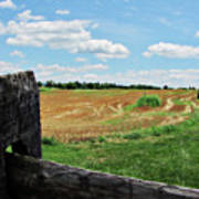 Antietam Farm Fence 2 Art Print