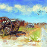 Antietam Under Blue Skies  Art Print