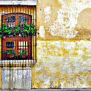 Antigua Window Art Print