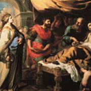 Antiochus And Stratonike Art Print