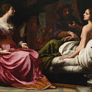 Antiochus Prince Of Syria And Stratonice His Stepmother Art Print