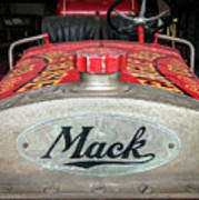 Antique 1930 Mack Bc-cd Fire Truck Art Print